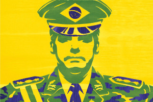 Brasiliens Präsident Bolsonaro in Galauniform: Zur Feier des Jahrestag des Militärputsches 1964, die er angeordnet hat