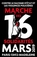 (Paris) Marche des Solidarités am 16.3.2019