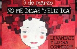 Frauenstreikplakat aus Spanien für den 8.3.2019