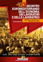 Plakat zur Mobilisierung für das 3. europäische Treffen selbstverwalteter Betriebe vom 12. bis 14. April 2019 in Mailand bei RiMaflow