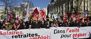 Die Pariser Demo am 19.3.2019 die größte der vielen an diesem Tag in Frankreich