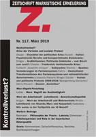 Z. Zeitschrift marxistische Erneuerung Nr. 117 vom März 2019