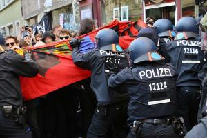 Die extralegale Räumung in Berlin am 6.4.2019