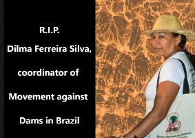 Die MAB Aktivistin Dilma Ferreira wurde im März 2019 im nordbrasilianischen Bundesstaat Para ermordet - im Auftrag eines Großgrundbesitzers