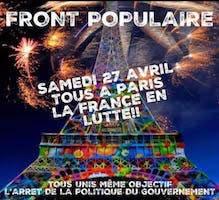 Gelbwesten und Gewerkschaften in Frankreich mobilisieren für den 27.4.2019