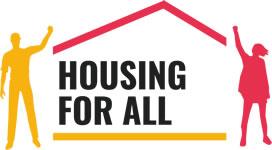 Wohnen für alle / Housing for all: Europäische Mieteninitiative – in der BRD von DGB und Mieterbund getragen