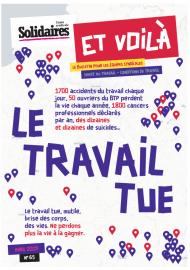 Le Travail tue - Aktivenzeitschrift von SUD Solidaires mit Schwerpunkt Selbstmorde
