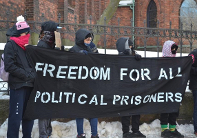Solidaritätsaktion gegen die Prozesswelle gegen Anarchisten in Russland, April 2019