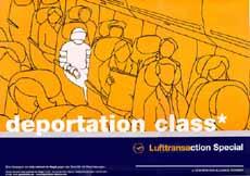 deportation class: Internet-Demo gegen das Abschiebegeschäft und Lufthansa am 20. Juni 2001