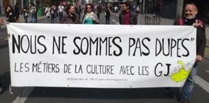L'APPEL DES ARTISTES, CRÉATEURS ET CREATRICES : NOUS NE SOMMES PAS DUPES