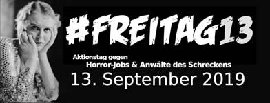 aktion arbeitsunrecht: Schwarzer Freitag13. September 2019: Was sind deutsche Horror-Jobs?