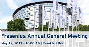 Fresenius-Hauptversammlung 2019