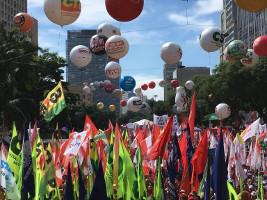 Maidemonstration Sao Paulo 2019: Erstmals gemeinsam von allen 10 Verbänden
