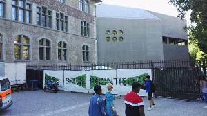 Die Parkbesetzung in Zürich 2018 - eine Tradition entsteht...