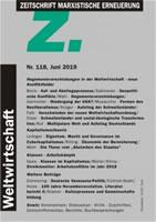 """Zeitschrift Marxistische Erneuerung-""""Z"""" Nr. 118 vom Juni 2019"""