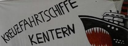 Initiative gegen Kreuzfahrt: Kreuzfahrtschiffe (k)entern