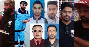 Die Karachi8 - Hafenarbeiter von Hutchison auch in Pakistan entlassen, weil sie Gewerkschafter sind...