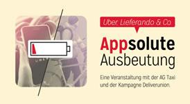 [Veranstaltung am 19.06.2019 in Berlin] Appsolute Ausbeutung