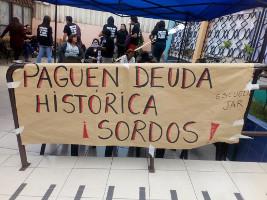 Streik gegen die Streichung des Geschichtsunterrichts in Chile, Juni 2019