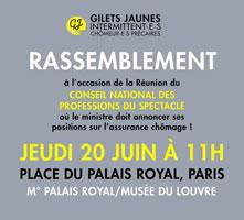 """Frankreich: Protest gegen Arbeitslosen-""""Reform"""" am 20. Juni 2019"""