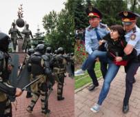 Ab dem 9. Juni 2019, dem Tag der sogenannten Prsidentenwahl in Kasachstan gab es vier Tage lang Festnahmen im ganzen Land - die Proteste, die größten seit 30 Jahren