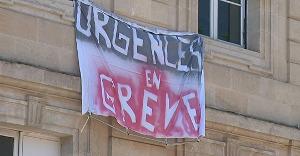 Streikbewegung in den Notafnahmen französischer Krankenhäuser: Wächst seit Mai 2019 beständig an