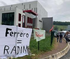 Geizhals Ferrero in Frankreich bestreikt und blockiert