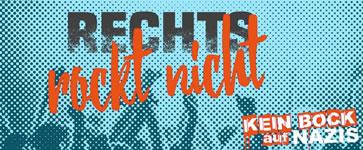 Rechts rockt nicht! Protest gegen Nazi-Festival am 21.6.2019 in Ostritz