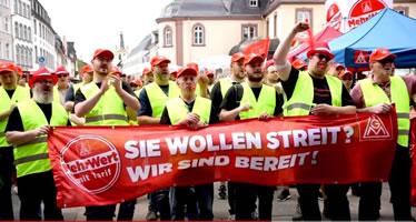 Solidaritätsaufruf für die Streikenden bei RIVA Stahl / HES in Trier und Horath