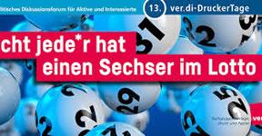 13. ver.di DruckerTage 05.06.– 07.06.2019 in Bielefeld