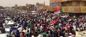 Auch nach dem Millionenmarsch am 30.6 wurde im Sudan jeden Tag weiter demonstriert - hier in Port Sudan am 3.7.2019