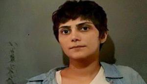 Marzieh Amiri am 13. August 2019 in Teheran zu 10 Jahren und sechs Monaten Gefängnis verurteilt - weil sie an einer 1. Maidemo teilnahm...