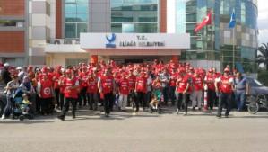 Izmir Juki 2019: Sie alle wurden vom Bürgermeister aus dem öffentlichen Dienst entlassen - weil sie der falschen Gewerkschaft angehören...