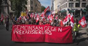 """Aktionsbündnis """"Auslagerung und Befristung verbieten!"""""""