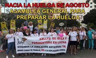 """Jetzt wird auch auf Ibiza und Formentera gestreikt: Reinigungsfrauen in Hotels – """"die Kellys"""" machen mobil"""