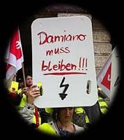 Damiano muss bleiben