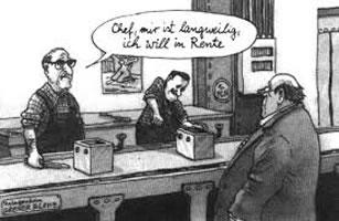 Langeweile am Fliessband - ein Grund für Gruppenarbeit?