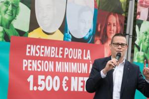 40.000 Unterschriften in zwei Tagen - die belgische Kampagne, mit der das Parlament gezwungen werden soll, die Mindestrente 1.500 Euro zu debattieren