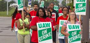 Der Streik der GM Belegschaft in den ganzen USA hat am 16.9.2019 begonnen