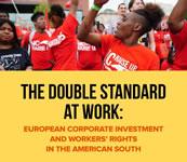 Umschlag der Broschüre von AFL-CIO über europäische Konzerne im Süden der USA vom Oktober 2019