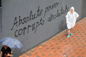 Hongkong: Absolute power corrupts absolutely