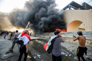 Bagdad und der ganze Irak erleben neue Proteste - Polizei erschießt zwei Menschen