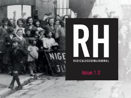Cover europäische Zeitschrift des radikalen Wohnrechts