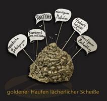 """[7.10.19] Arme-Würstchen-Party und Verleihung des """"Goldenen Haufens lächerlicher Scheiße"""" an die Leitung des Jobcenters Köln-Porz"""