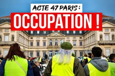 Akt 47 der Gelbwesten in Frankreich