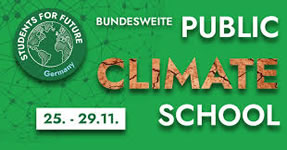 Students for Future: Klimastreikwoche an den Hochschulen vom 25. bis 29. November 2019