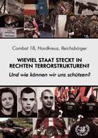 """Broschüre von komaufbau: """"Wieviel Staat steckt in rechten Terror-Strukturen – und wie können wir uns schützen?"""" vom 20. Oktober 2019"""