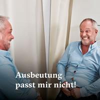 """Kampagne """"Ausbeutung passt mir nicht!"""" von Public Eye"""