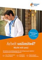 Marburger Bund: Arbeit unlimited? [Länder-Tarifrunde für Ärztinnen und Ärzte in Unikliniken 2019/20