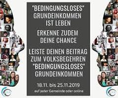 [Österreich] Das Volksbegehren für ein BGE von 1200 Euro vom 18. bis 25. November 2019